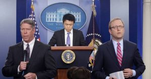 Kevin Xu at The White House
